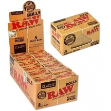 Raw Papers 5 Meter Rolls - Single Wide