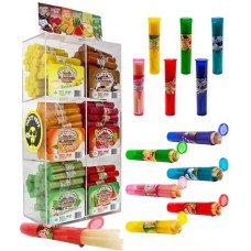 Tasty Puff Tasty Tips Flavored Pre-Rolled Cones 180 3pk Tubes with Display