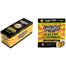 Twisted All Natural Terpene Tips - Electric Lemonade