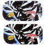 Backwoods Rolling Tray With Magnet Cover - Goku Black and White