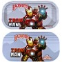 Backwoods Rolling Tray With Magnet Cover - Iron Man