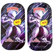 Backwoods Rolling Tray With Magnet Cover - Mewtwo Art