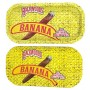 Backwoods Rolling Tray With Magnet Cover - Banana