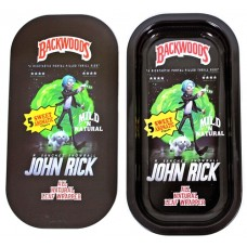 Backwoods Rolling Tray With Magnet Cover - John Rick