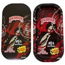 Backwoods Rolling Tray With Magnet Cover - John Wick