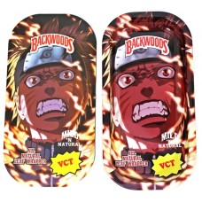 Backwoods Rolling Tray With Magnet Cover - Naruto Beast Mode