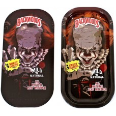 Backwoods Rolling Tray With Magnet Cover - Pennywise