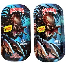 Backwoods Rolling Tray With Magnet Cover - Predator