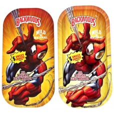 Backwoods Rolling Tray With Magnet Cover - Spider-Man