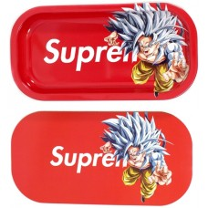 Backwoods Rolling Tray With Magnet Cover - Supreme Saiyan