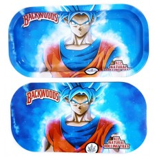 Backwoods Rolling Tray With Magnet Cover - Gohan Saiyan
