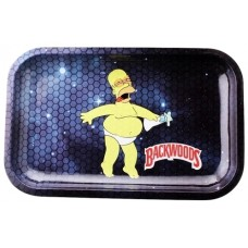 Backwoods Rolling Tray - Homer In Space
