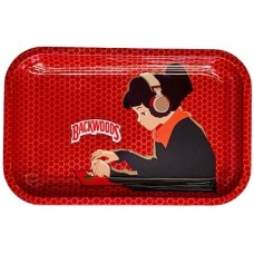 Backwoods Rolling Tray - LoFi Hip Hop Girl
