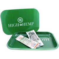High Hemp Magnet Lid Rolling Tray With Wraps Bundle