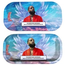 Backwoods Rolling Tray With Magnet Cover - Nipsey