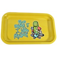 Metal Rolling Tray - Rick And Morty - Love Myself