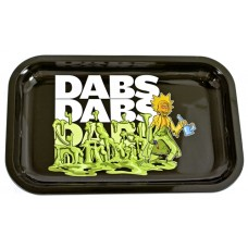 Metal Rolling Tray - Rick And Morty - Dabs Dabs
