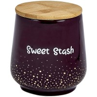 Deluxe Canister Stash Jar - Gold Dots - Sweet Stash