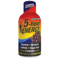 5 Hour Energy Shot - Grape 12pk