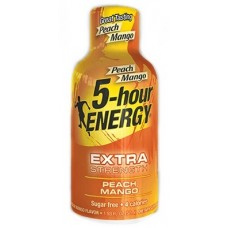 5 Hour Energy Shot - Extra Strength Peach Mango 12pk
