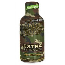 5 Hour Energy Shot - Extra Strength Sour Apple 12pk