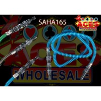 "68"" 5ct. Assorted Colors Hookah Hoses"