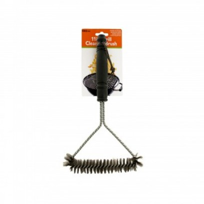 Barbecue Grill Metal Bristle Cleaning Brush