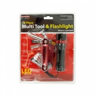 Multi Tool With 3 Function Flashlight Set