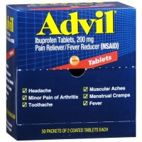 Advil Ibuprofen 200mg 50pk