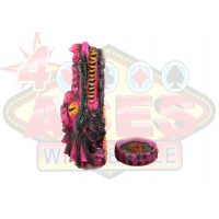 "12"" Vertical Dragon Head Incense Burner"