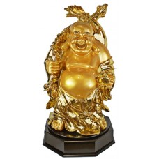 "28"" Rotating Gold Buddha Statue #3"
