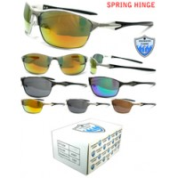 12ct Cold Water Classix Sports Mens Sunglasses With Spring Hinge CC18/Metal