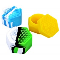 10ct Honeycomb Silicone Stash Container