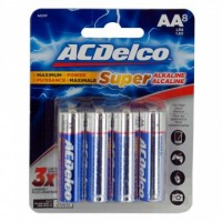 8 Pack ACDelco AA Alkaline Batteries