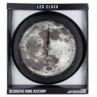 Full Moon LED Wall Clock