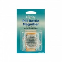 6ct Pill Bottle Magnifier