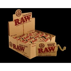 Raw Hemp Wick 10ft 40pk