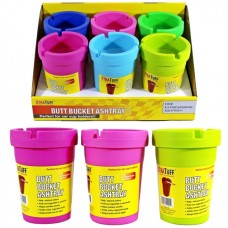 Butt Bucket Cup Holder Ashtray - Color Mix