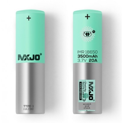 2ct MXJO 18650 3500mAh Rechargeable Battery