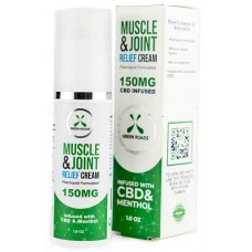 Green Roads CBD Muscle Joint Relief Cream - 150mg