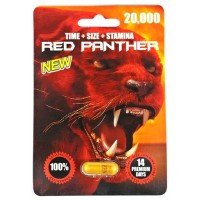 Red Panther 20000 Male Enhancement Capsules