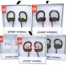 4ct G5 Sports Power3 Wireless In Ear Headphones Assortment