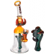"12"" Cheech Glass Falcon Claw Rig Water Pipe"