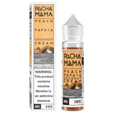 Pacha Mama 60ml E-Juice - Peach Papaya Coconut Cream