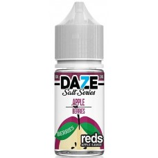 7 Daze Reds Salt Series 30ml - Apple Berries