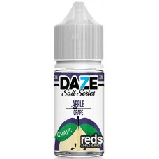 7 Daze Reds Salt Series 30ml - Apple Grape