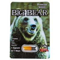 Big Bear Premium 9000 Male Enhancement Capsule