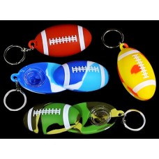 4ct Silicone Football Keychain Hand Pipe