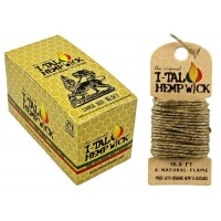 I-tal Hempwick Large 16.5ft With Holders 24pk