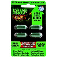 Hemp Bombs Capsules 12pk